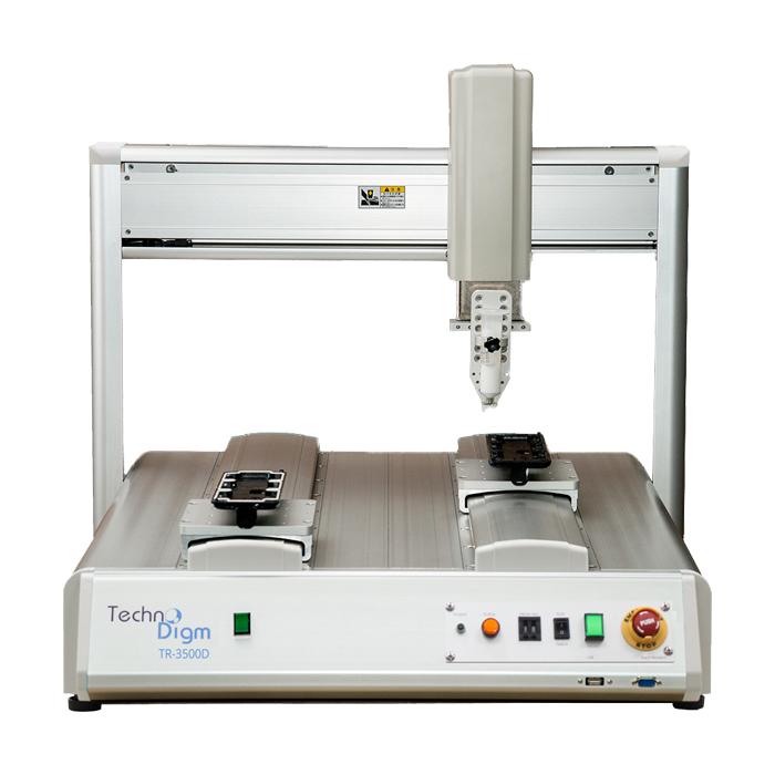 Dual Y-Axis Desktop Dispensing Robots