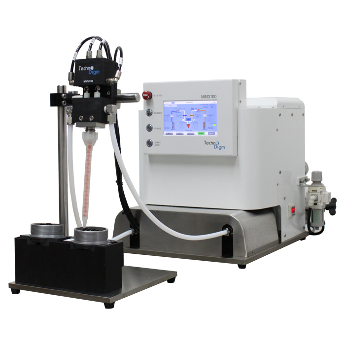 MM3000GP Series Gear Pump Meter-Mix Dispensing System